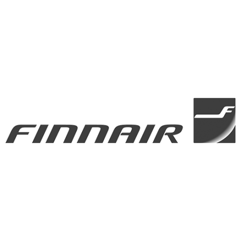 Logo Finnair, black & white