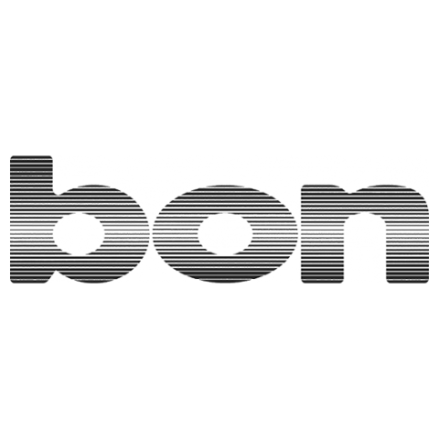 Logo bon Optic, black & white