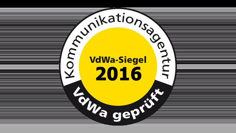 VdWa Agentursiegel 2016