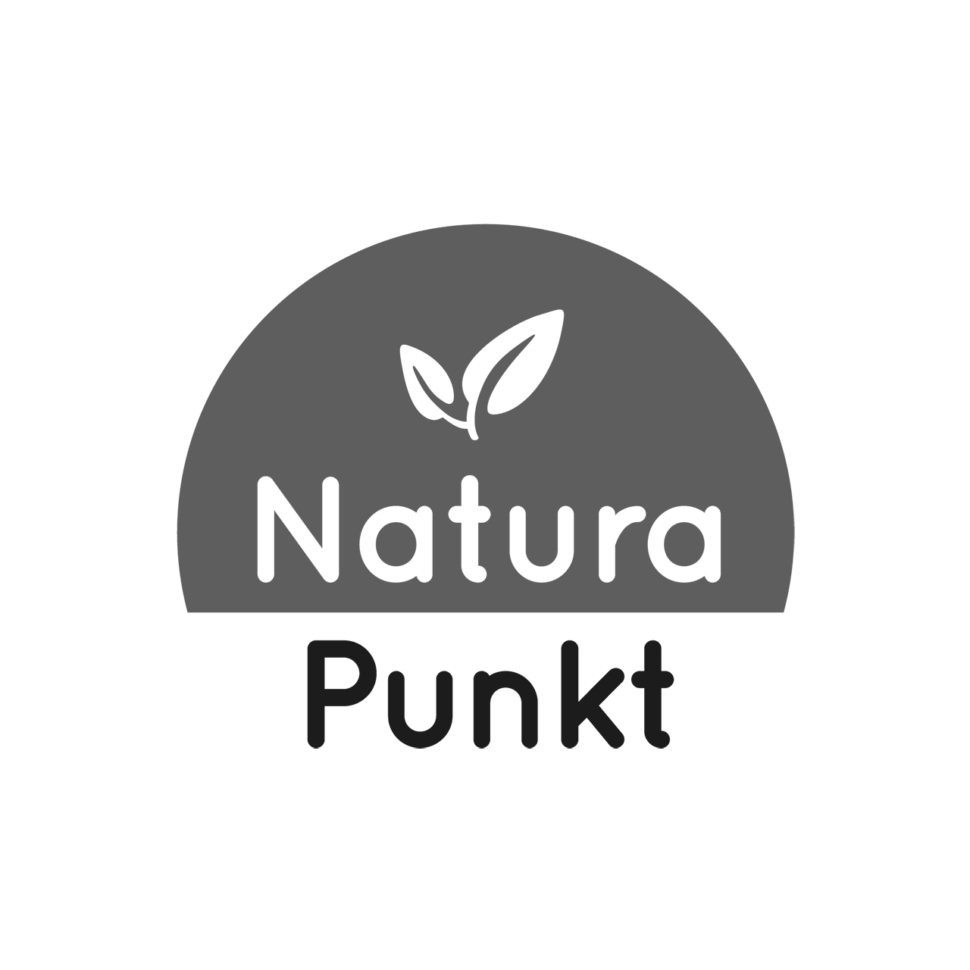 Logo NaturaPunkt, black & white