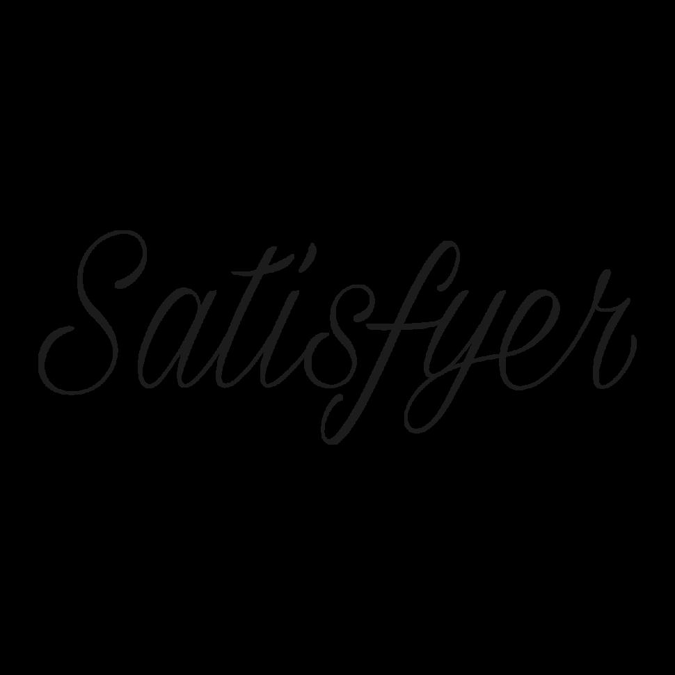 Logo Satisfyer, black & white