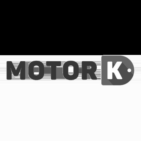 Logo MotorK, black & white