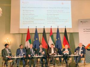 Deutschland und VAE – Konferenz zu wirtschaftlichen und technischen Kooperationen in Berlin
