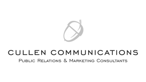 Logo Cullen Communications, black & white