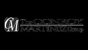 Logo The Conroy Martinez Group, black & white